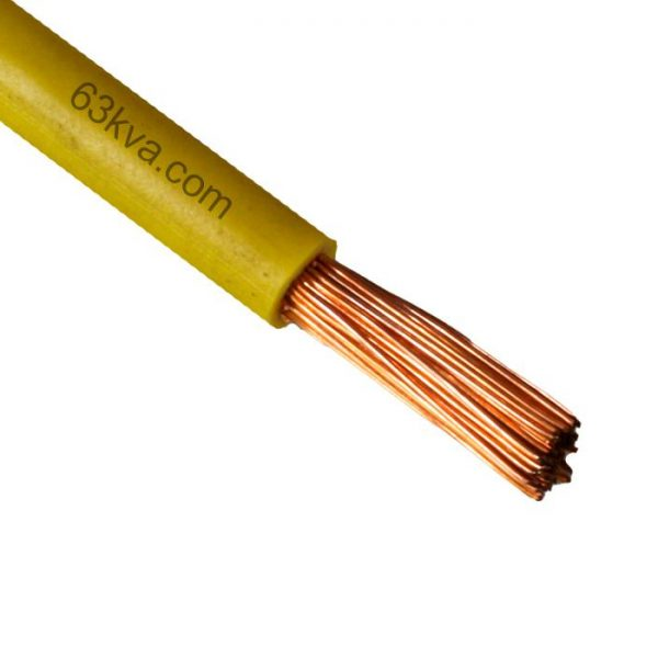 Class 5 or stranded copper conductor